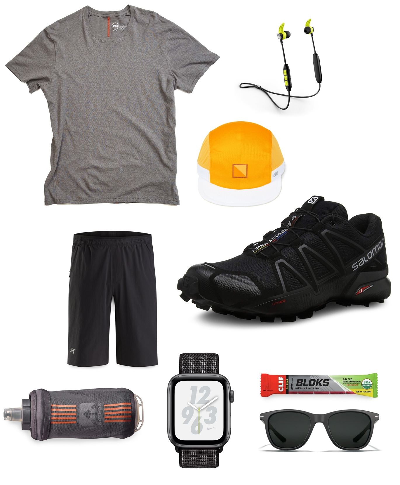 Men's trail running outfit inspiration