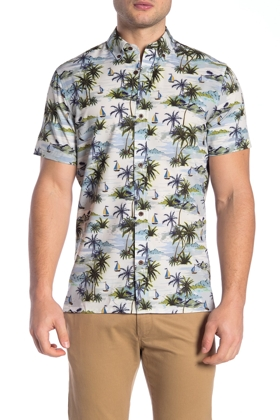 Wallin & Bros Hawaiian Performance Fit Shirt