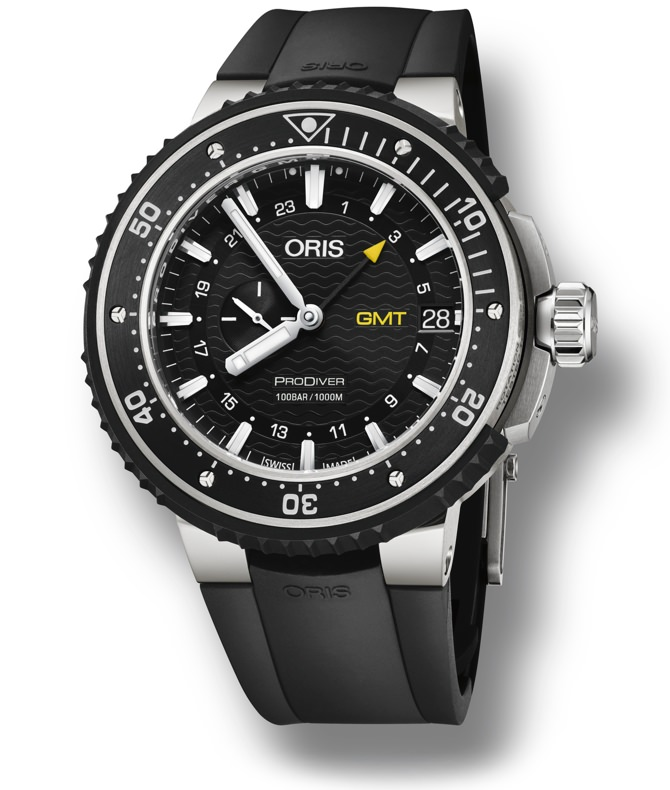 Oris ProDiver GMT watch