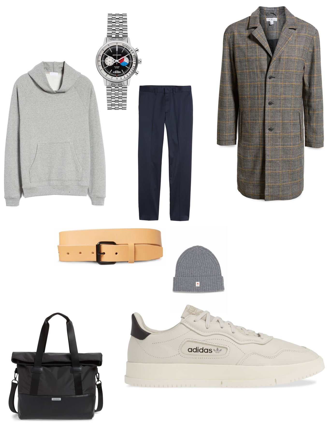 Stylish cool work outfit inspiration