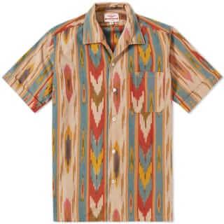 Battenwear Zuma Ikat Print Shirt