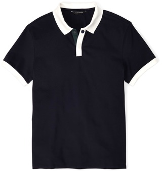 Club Monaco Contrast Pocket Polo
