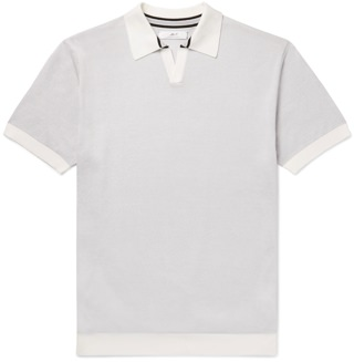 Mr P. Knitted Cotton Polo
