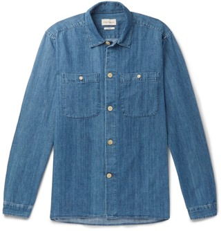 Oliver Spencer Ellthamn Denim Shirt