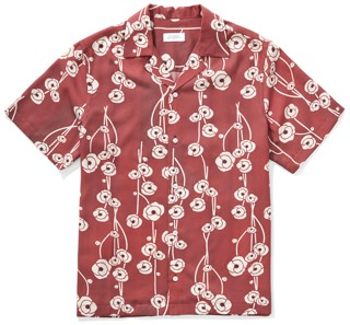 Saturdays NYC Canty Poppy Shirt