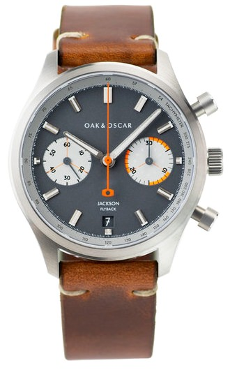 Oak & Oscar Jackson Phonograph Watch