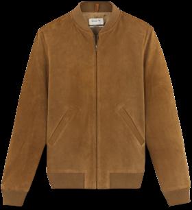 A.P.C. Calfskin Suede Jacket