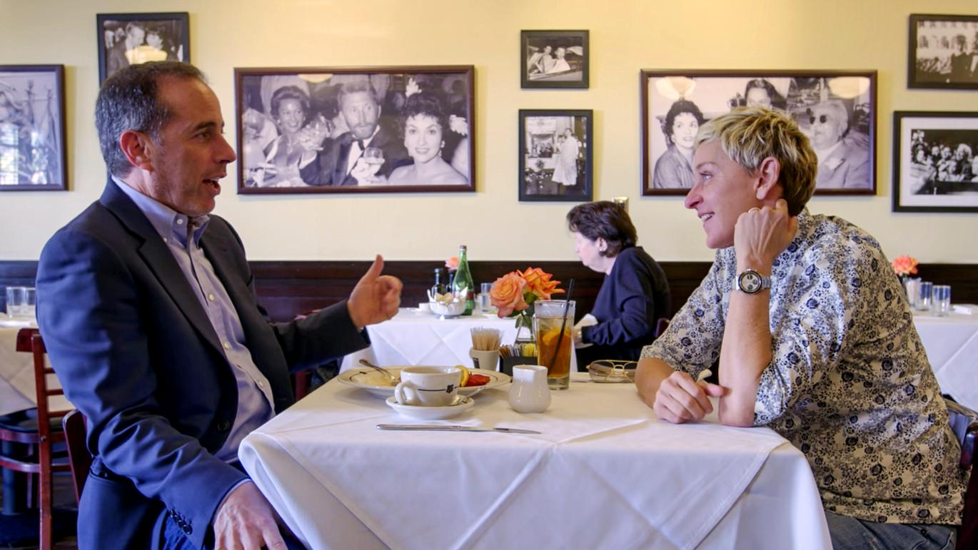 Ellen DeGeneres on Comedians In Cars Getting Coffee