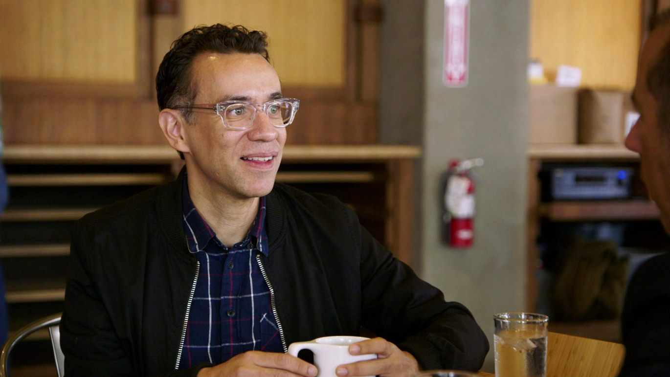 Fred Armisen on Comedians In Cars Getting Coffee