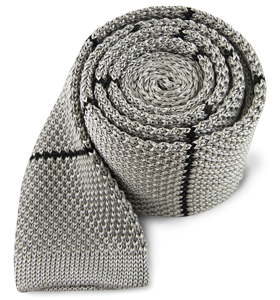 The Tie Bar Hand Knit Silk Tie