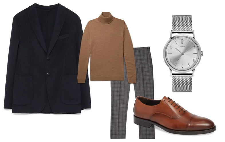 Men's fall work outfit