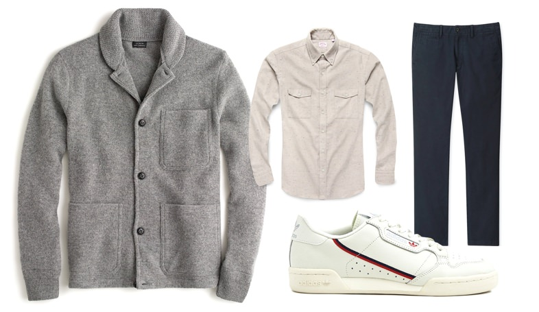 Men's fall workwear outfit