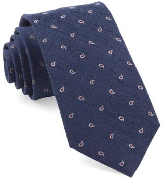 The Tie Bar Linen and Silk Tie