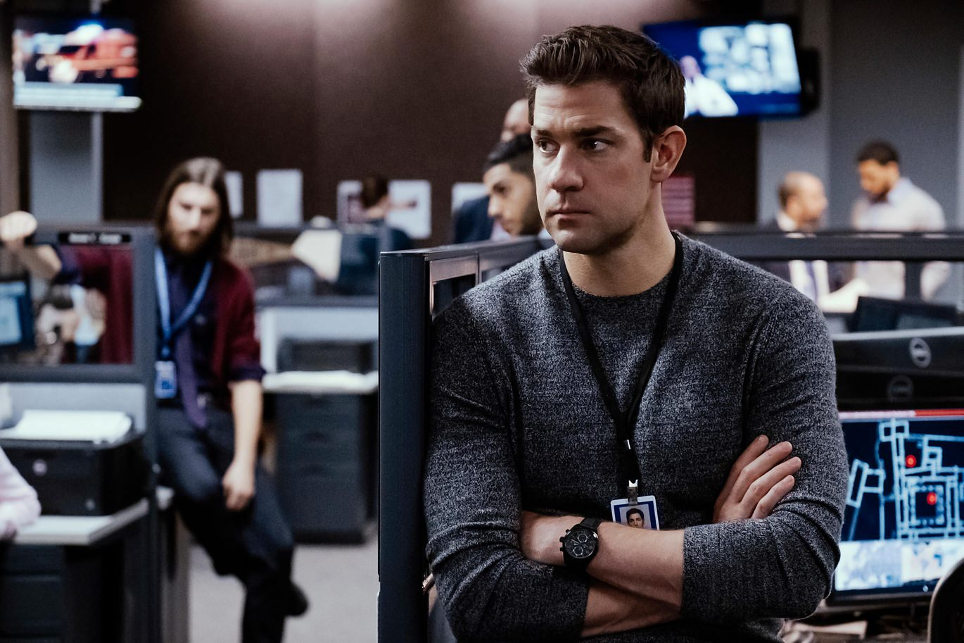 John Krasinski as Jack Ryan for Amazon Prime
