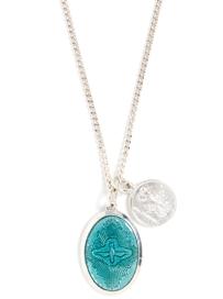 Miansai Enamel Pendant Necklace