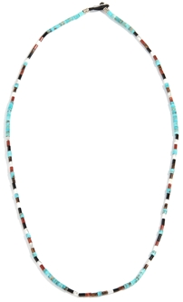 Mikia Silk and Bead Necklace