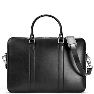 Linjer Soft Leather Briefcase