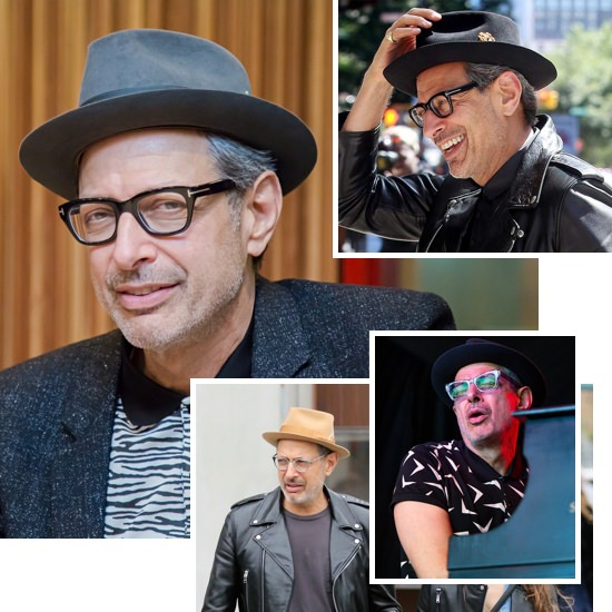 Jeff Goldblum hats