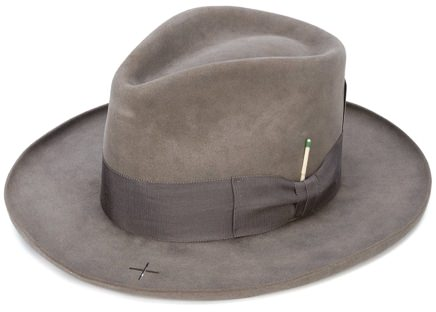 Nick Fouquet Leather Hat