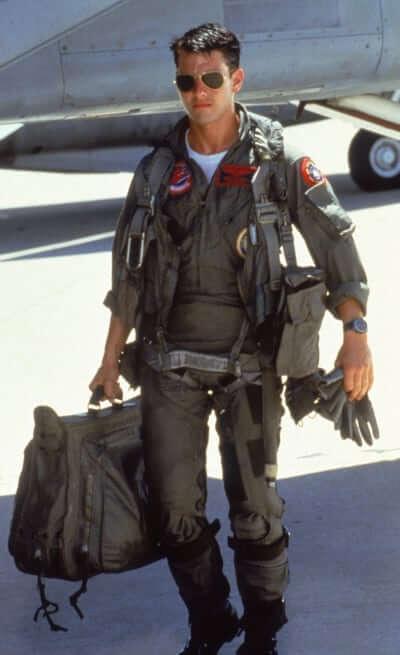 Tom Cruise in aviator sunglasses