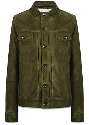Officine Generale Suede Liam Jacket