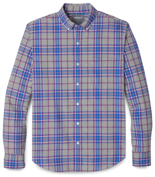 Bonobos Washed Checked Button-Down