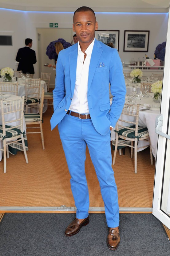 Eric Underwood at Wimbledon 2018