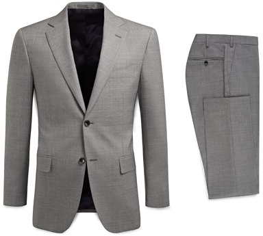 Suitsupply Lightweight Itlian Wool Suit