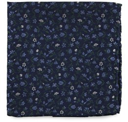 The Tie Bar Floral Pocket Square