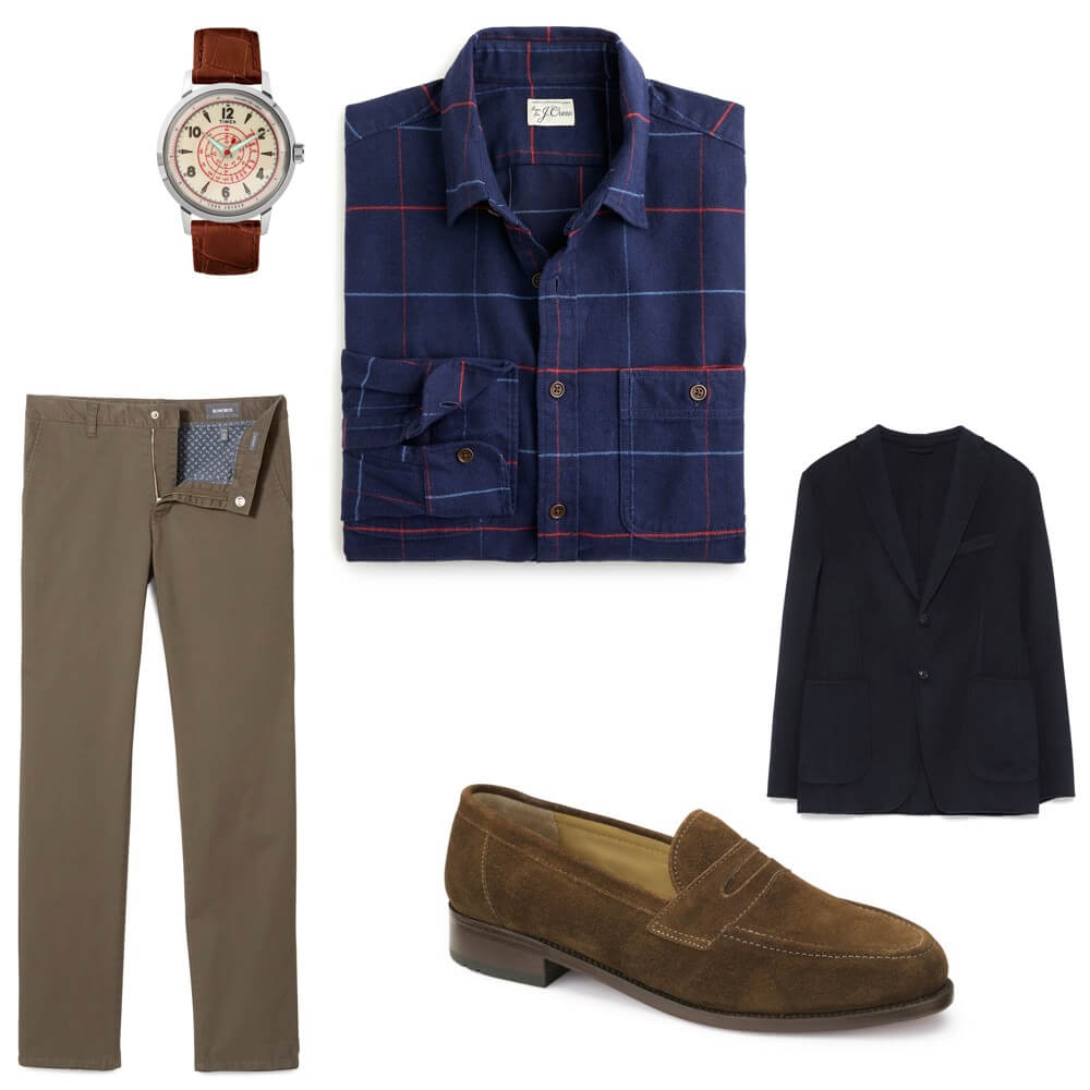 Thanksgiving dinner menswear outfit inspiration