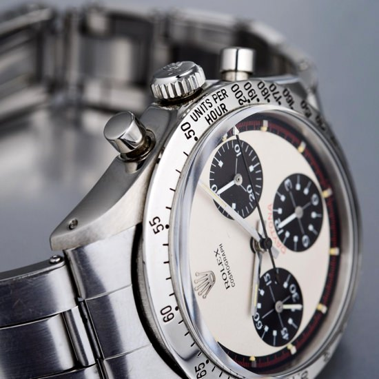 Paul Newman's Vintage Rolex Daytona watch