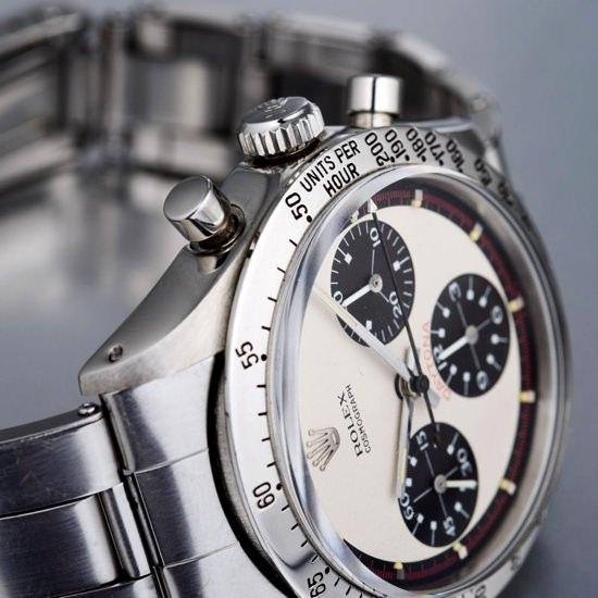 Paul Newman's Vintage Rolex Daytona watch