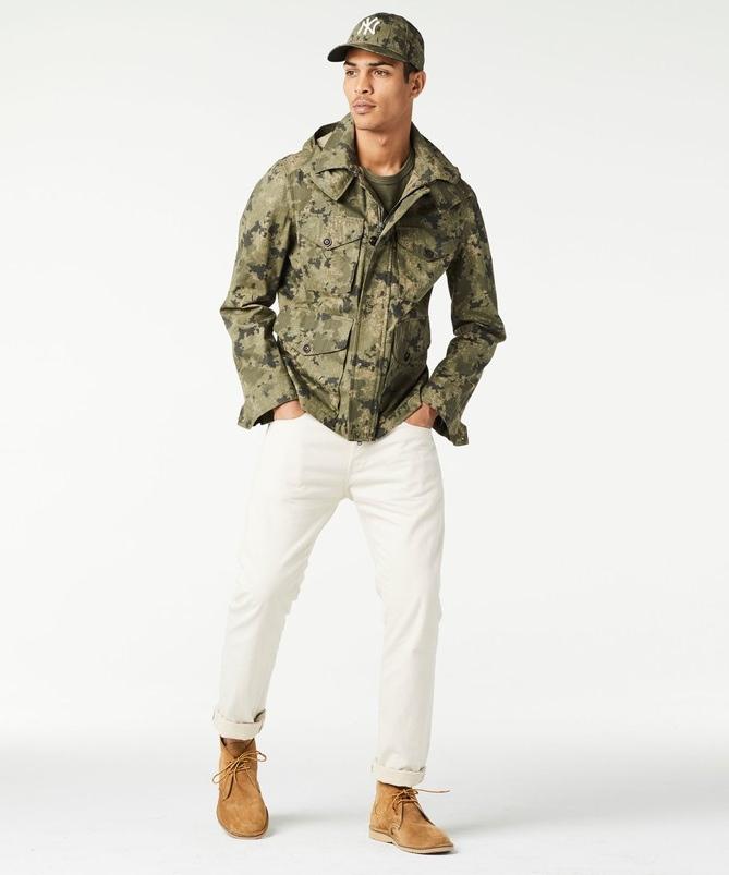 Todd Snyder Ripstop Camo Desert Jacket