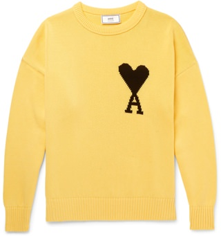 Ami Graphic Sweater