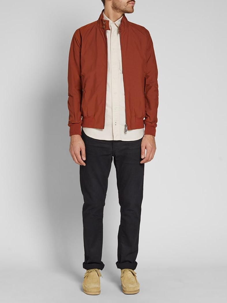 Baracuta Caramel G9 Harrington Jacket