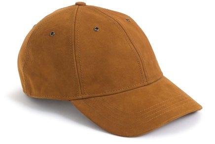 J.Crew Caramel Suede Ball Cap