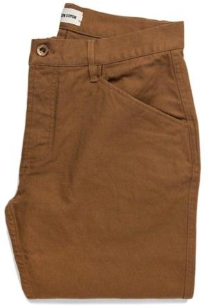 Taylor Stitch Caramel Camp Pants