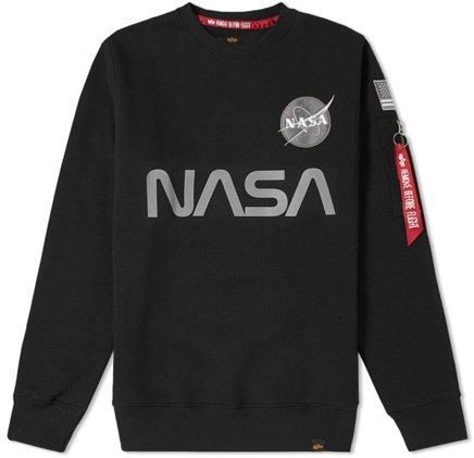 Alpha Industries NASA Logo Sweatshirt