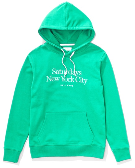 Saturdays NYC Embroidered Logo Hoodie