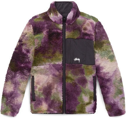 Stussy Reversible Fleece Bomber